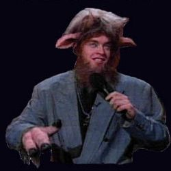 LOL if you think Daniel Bryan is winning the WHC at ... Jim Breuer Goat Boy
