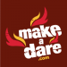 staple the MakeaDare logo to your chest