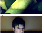 screen cap something funny on Chatroulette