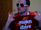 post a pic of you and your makeadare shirt